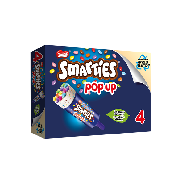 Smarties Pop up x4